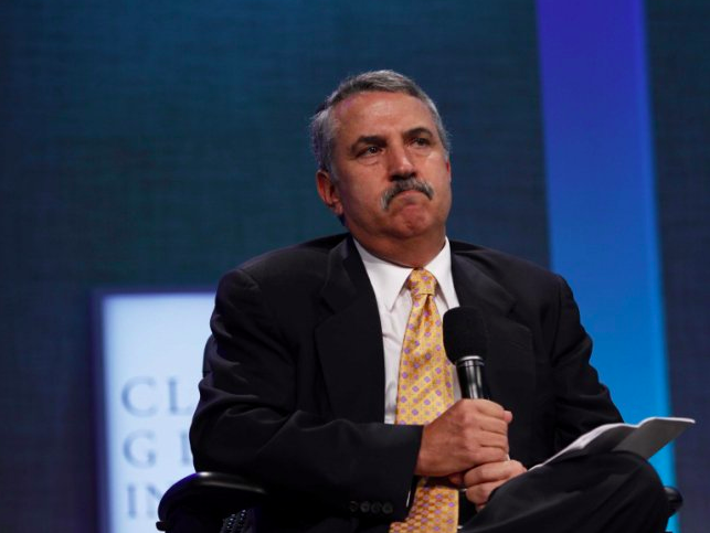 "(REUTERS/Lucas Jackson)Thomas Friedman.New York Times columnist and author Thomas L. Friedman stunned many of his readers on Wednesday when he asked, ""Should we be arming ISIS?"""