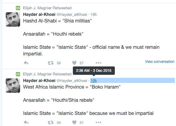 Why can't we call be specific about the Wahhabi-Salafi ideology of ISIS