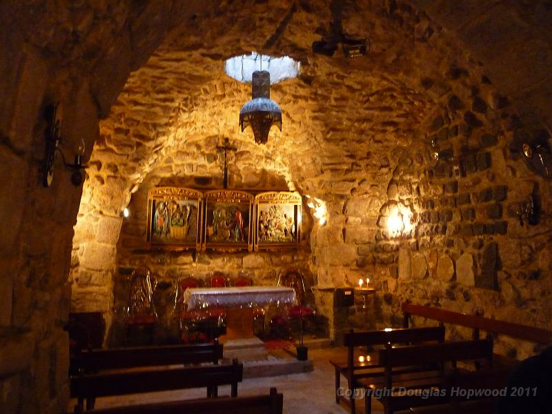 10 Damascus Chapel in Ananias house