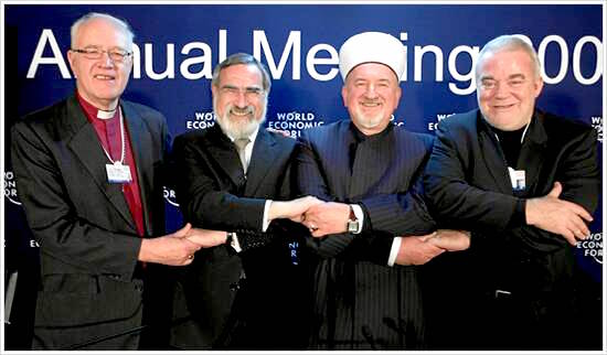 Religious leaders call for the peace in the middle east