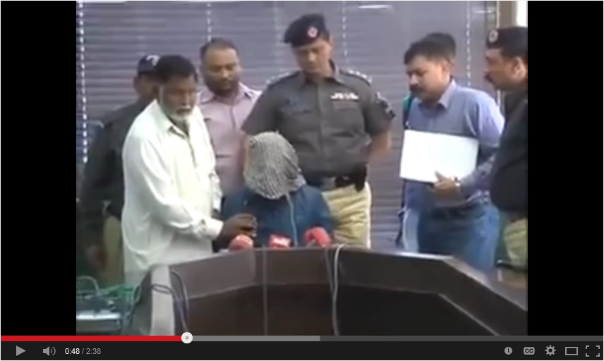 Sipah-e-Sahaba Pakistan's (SSP) arrested militant admitting to killing Shi'as in Pakistan